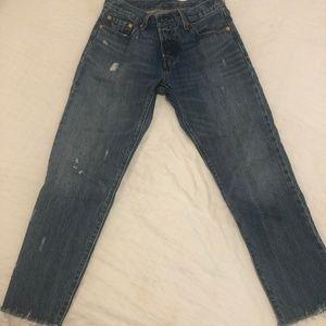 Levi's 501 CT (custom tailored) Jeans
